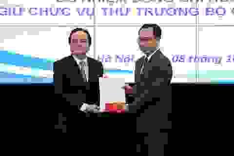 Tân Thứ trưởng Hoàng Minh Sơn chính thức nhận nhiệm vụ tại Bộ GD&ĐT