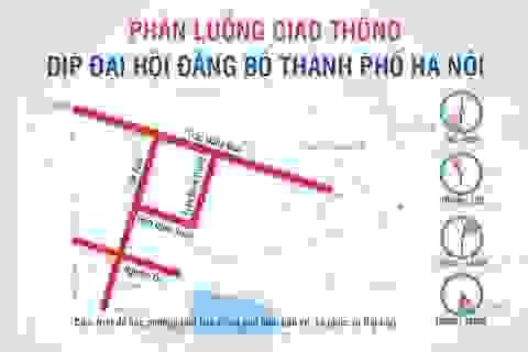 Giao thông thay đổi thế nào dịp Đại hội Đảng bộ thành phố Hà Nội?