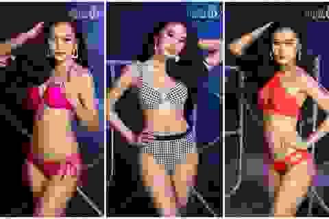 """Thí sinh Hoa Hậu Việt Nam 2020 """"đốt mắt"""" với trang phục bikini"""