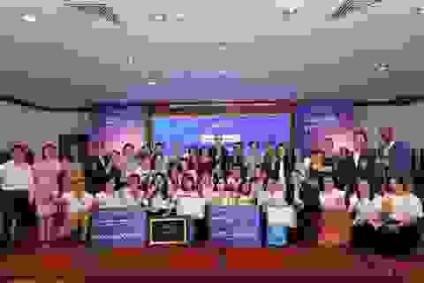 Học sinh 5 tỉnh tranh tài hùng biện tiếng Anh về quan hệ Việt - Mỹ