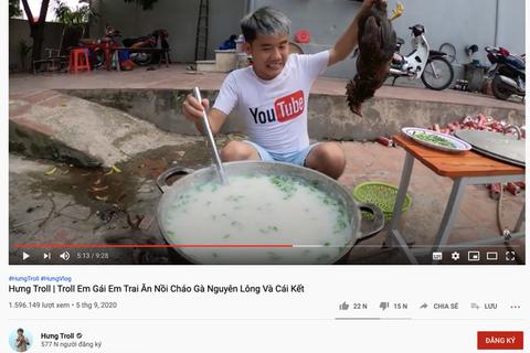 Làm sao để các video có nội dung nhảm nhí biến mất ở Việt Nam?