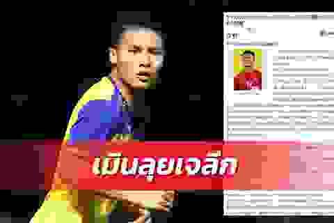 """Báo Thái Lan: """"J-League muốn có Quang Hải nhưng bị từ chối"""""""