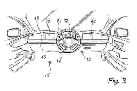 Volvo gây ngỡ ngàng với thiết kế vô lăng có thể trượt từ trái sang phải