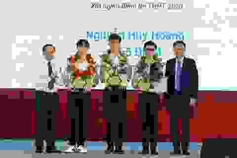 """Ba chàng trai tên """"Huy Hoàng"""" cùng đỗ thủ khoa vào ĐH Bách khoa TPHCM"""