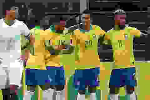 Firmino tỏa sáng, Brazil thắng đậm ở ngày mở màn vòng loại World Cup