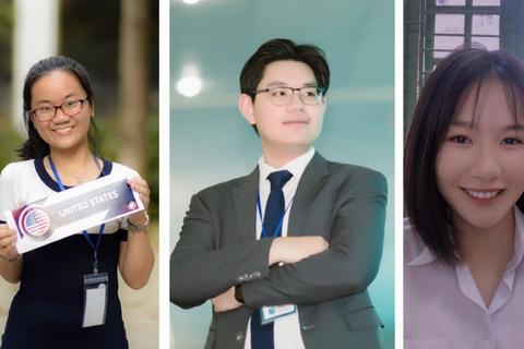 Ba gương mặt trẻ giành trên 10 học bổng du học mùa này