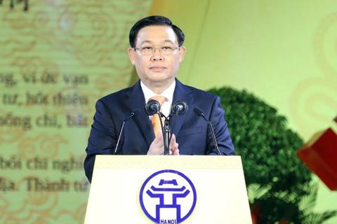 Ông Vương Đình Huệ: Thăng Long - Hà Nội đang vươn mình với vị thế mới