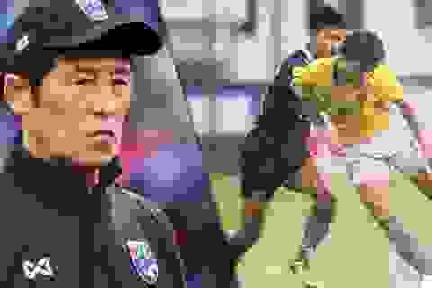 HLV Nishino nói gì sau thất bại của tuyển Thái Lan trước đội hạng dưới?