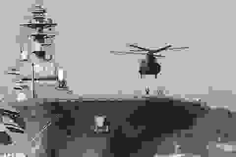 Nhật Bản điều tàu sân bay diễn tập chống tàu ngầm trên Biển Đông