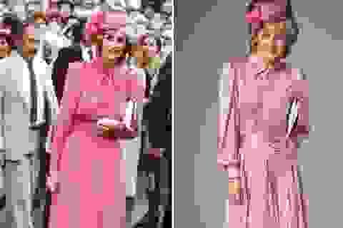 Phong cách thời trang của công nương Diana thịnh hành trở lại sau 2 thập kỷ