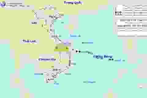 Bão số 6 đi vào đất liền Quảng Nam, Quảng Ngãi và suy yếu thành áp thấp