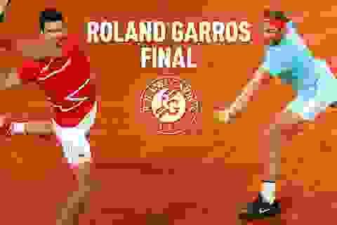 Nadal và Djokovic săn kỷ lục ở trận chung kết Roland Garros