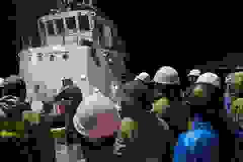 Đà Nẵng: Áp thấp mạnh lên thành bão, vẫn chưa tìm thấy tàu cá mất tích
