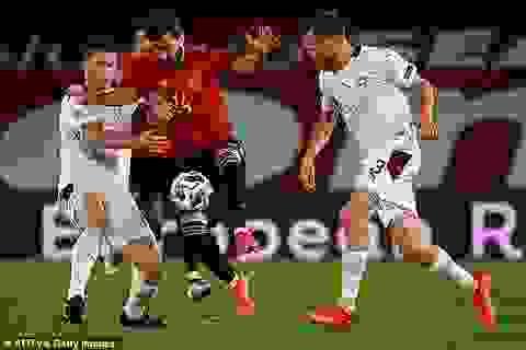 Tây Ban Nha và Đức giành chiến thắng nhọc nhằn ở UEFA Nations League