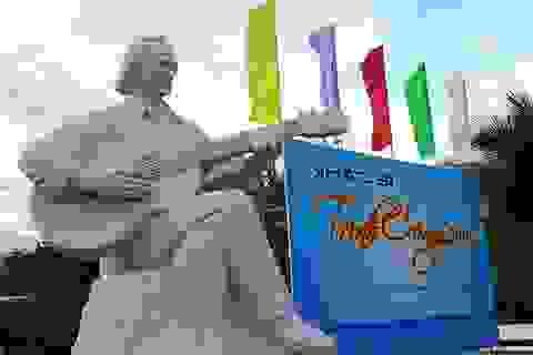 Khánh thành tượng Trịnh Công Sơn bên bờ biển Quy Nhơn