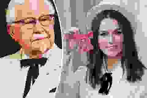Thời trang của người sáng lập thương hiệu KFC gây sốt với sao nữ