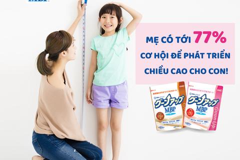 Bật mí cách giúp con tăng chiều cao và thể chất