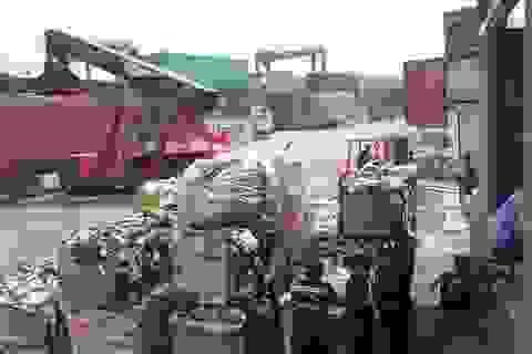 Hàng loạt hãng tàu xin tái xuất phế liệu ra khỏi Việt Nam: Không dễ dàng!