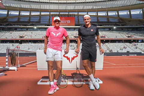 Roger Federer gửi lời chúc mừng đến Rafael Nadal
