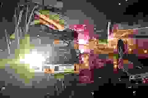 Xe khách vượt ẩu gây tai nạn liên hoàn, 1 người chết, 4 người bị thương