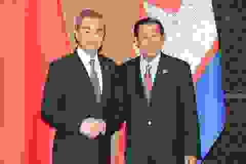 Trung Quốc - Campuchia ký hiệp định thương mại tự do