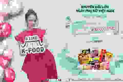 """""""I like K-food"""" dành tặng phụ nữ Việt chuỗi sự kiện đặc biệt dịp 20/10"""