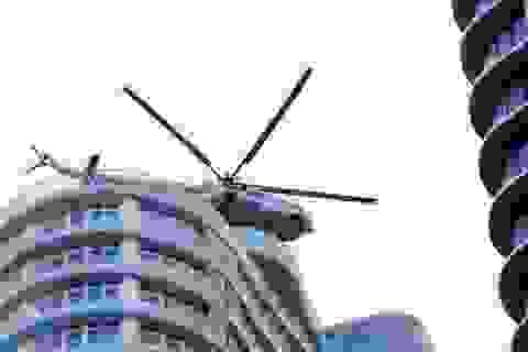 Hai trực thăng không quân từ Đà Nẵng ra Huế cứu hộ thủy điện Rào Trăng 3