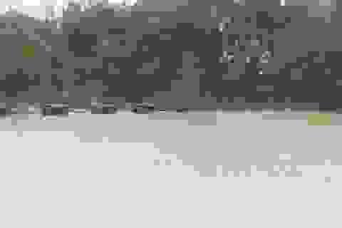 Hồ chứa nước Dạ Lam tại Quảng Bình có nguy cơ bị vỡ