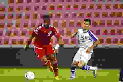 Tân HLV trưởng UAE nhận thất bại ngay trận ra mắt