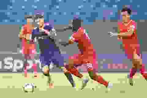 Tiến Linh ghi bàn, B.Bình Dương thắng đội đầu bảng Sài Gòn FC