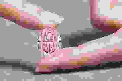 Viên kim cương hồng siêu quý hiếm có thể lên tới 38 triệu USD
