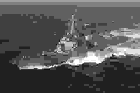 Chiến hạm Mỹ đi qua eo biển Đài Loan bất chấp Trung Quốc cảnh báo