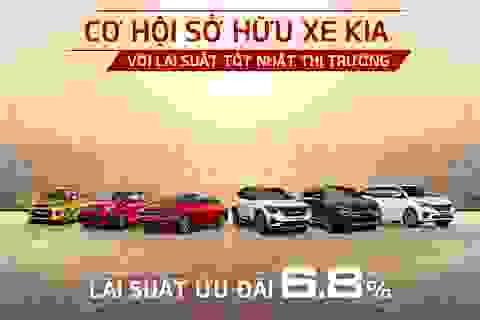 Sở hữu xe KIA với lãi suất vay tốt nhất thị trường, trả trước chỉ từ 60 triệu đồng