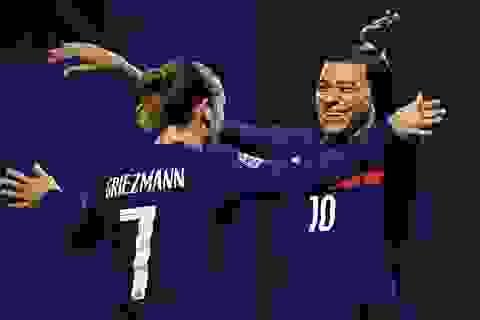 Griezmann, Mbappe đưa tuyển Pháp vượt qua Croatia