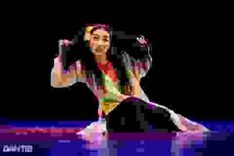 """""""Súy Vân"""", """"Hề chèo"""" thu hút người xem đêm diễn Tài năng múa"""