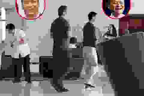 """""""Ông xã"""" của Triệu Vy lộ diện lần đầu sau nghi án ly hôn"""