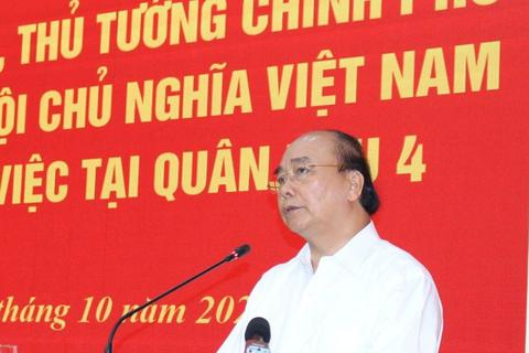 Thủ tướng: Dân đang cần thì dù hy sinh, người lính cũng sẵn sàng!