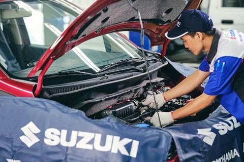 Suzuki nâng cao chất lượng dịch vụ hậu mãi và đảm bảo đủ phụ tùng