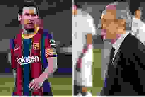 """Nghi án Chủ tịch Florentino Perez """"trả thù"""" Messi vì bị nếm trái đắng"""