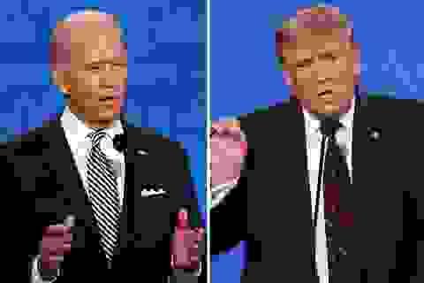 """Bầu cử Mỹ 2020: Biden chiếm ưu thế ở màn """"so găng lần hai"""" với ông Trump"""