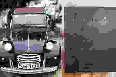 Đấu giá chiếc xe cổ của NSND Út Trà Ôn ủng hộ đồng bào miền Trung