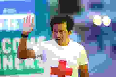 Ông Đoàn Ngọc Hải chinh phục giải marathon đặc biệt của Hà Nội