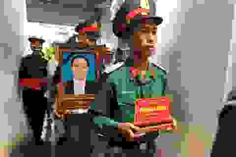 Tổ chức Lễ truy điệu, an táng liệt sĩ hy sinh tại Thủy điện Rào Trăng 3