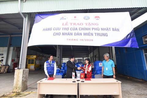 Nhật Bản hỗ trợ Thừa Thiên - Huế khắc phục hậu quả mưa lũ