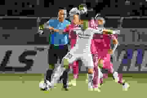Hòa CLB TPHCM, Sài Gòn FC mất nhịp trong cuộc đua vô địch