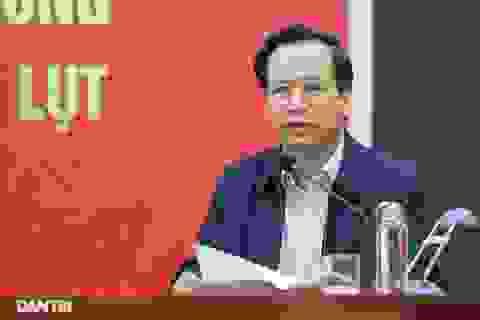 """Bộ trưởng Đào Ngọc Dung: """"Triệu tấm lòng hướng về khúc ruột miền Trung"""""""