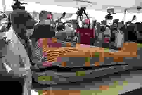 Ai Cập mở hàng chục quan tài 2.500 năm tuổi chứa xác ướp
