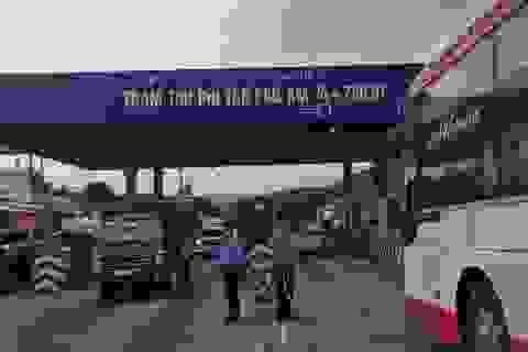 Tạm dừng thu phí tạiBOT Tân Phú trên quốc lộ 20