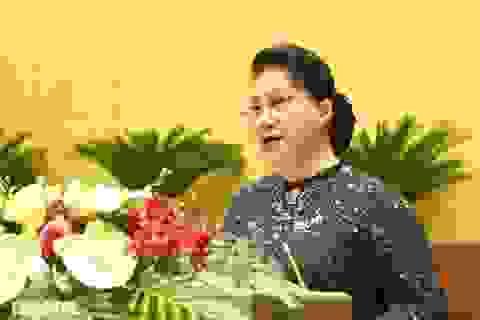 Chủ tịch Quốc hội chia sẻ đau thương, mất mát của đồng bào miền Trung