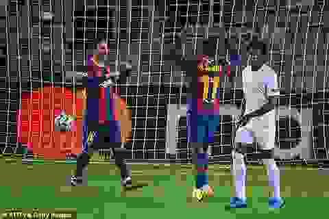 """Messi tỏa sáng, Barcelona đánh bại Ferencvaros """"5 sao"""""""